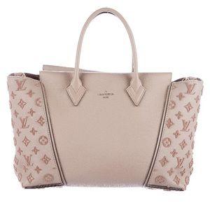 Monogram Louis Vuitton velours W Tote